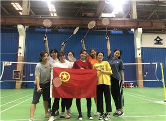 运动青春 凝心聚力:科幼团员教师参加羽毛球团建活动